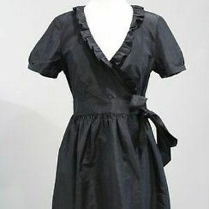 J Crew Silk Taffeta Dress EUC